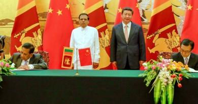 china-sri-lanka-ink-five-agreements