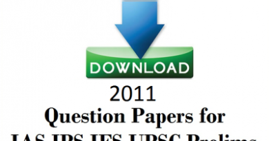 2011 UPSC Question Papers free Download