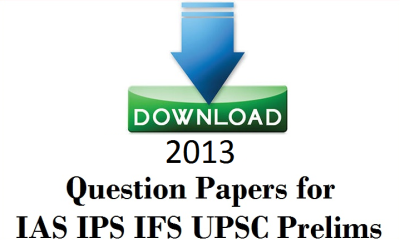 2013 UPSC Question Papers free Download