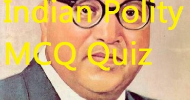 UPSC MCQs Quiz 11: Indian Polity with answers