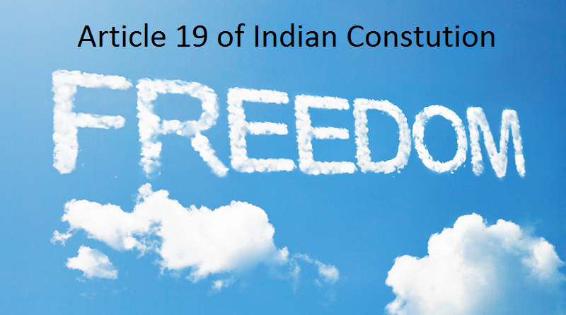 Right to Freedom - Article 19 IAS UPSC