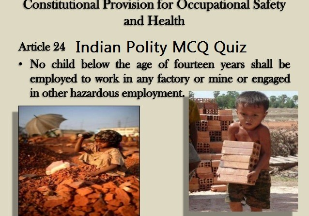 UPSC MCQs Quiz 16: Indian Polity with answers