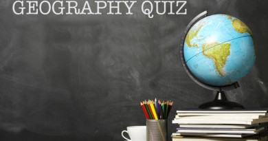 UPSC Online Test MCQs Quiz 1: Geography Questions