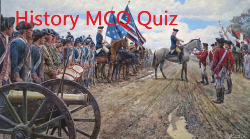 UPSC MCQs Quiz 9: History with answers