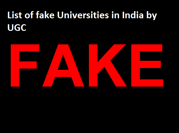 Dr CV Raman University (Proof) – Fake or Genuine in 2019 by UGC