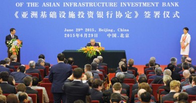 50 Countries Sign Articles Of Agreement For Asian Infrastructure Investment Bank