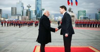 India/ Mongolia Decide To Elevate Ties To Strategic Partnership