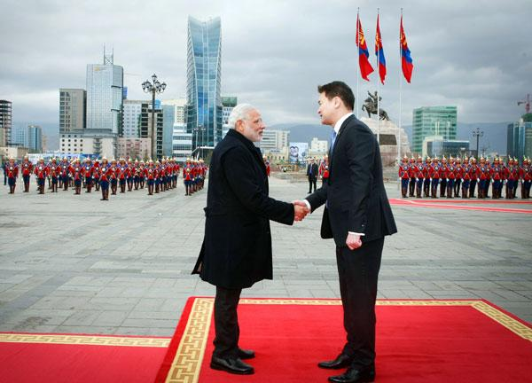 India/ Mongolia Decide To Elevate Ties To Strategic Partnership