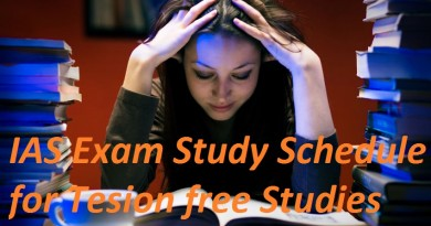IAS Exam Study Schedule for IAS Aspirants (Must Read)