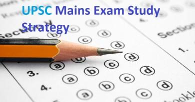 UPSC Civil Service Mains Exam Study Strategies
