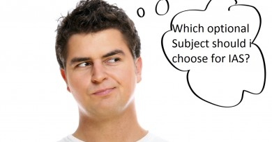 How to choose best optional Subject for IAS UPSC Exam?