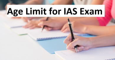 Age Limit for IAS Exam