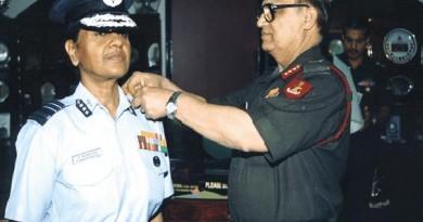 Padmavathy Bandopadhyay - First woman Air Marshal of the IAF