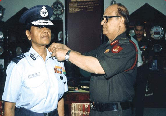 Padmavathy Bandopadhyay - First woman Air Marshal of the IAF