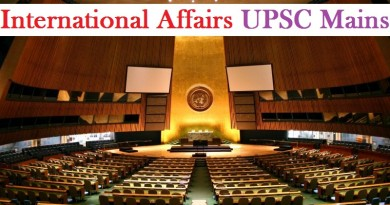 International Affairs UPSC Mains GS 2 Preparation