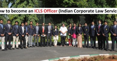 How to become an ICLS Officer (Indian Corporate Law Service)