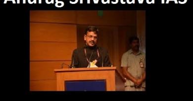 Anurag Srivastava IAS and Topper of CSE 1992
