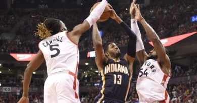 Paul George: 'We failed to live to up shoot.