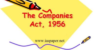 The Companies Act 1956 (UPSC Constitution)