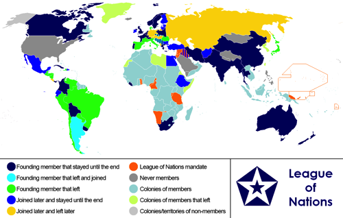 reasons for the failure of the league of nations The league of nations  seven reasons why the league failed in the 1930s  overall, was the league a success or a failure in the 1920s.