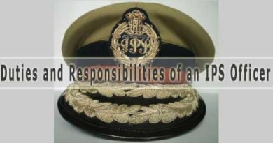 Powers and Functions of an IPS Officer