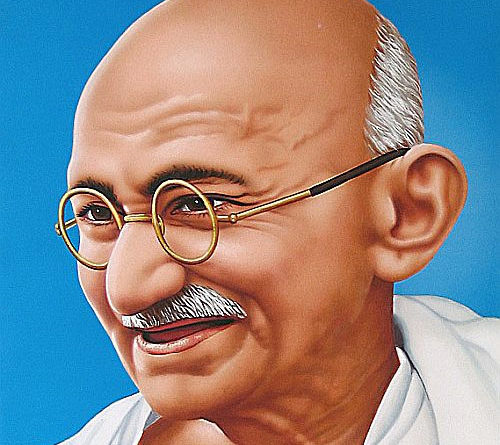 Gandhi biography for students