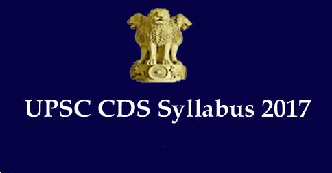 What is the UPSC CDS Exam Syllabus