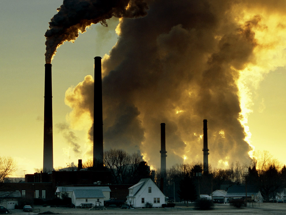 the growing concerns over air pollution of the earths atmosphere