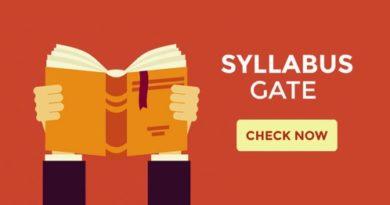 GATE Syllabus for CSE | ECE | EEE