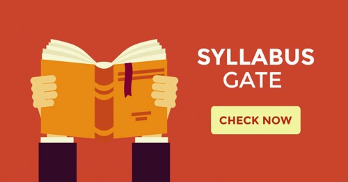 GATE Syllabus for CSE | ECE | EEE