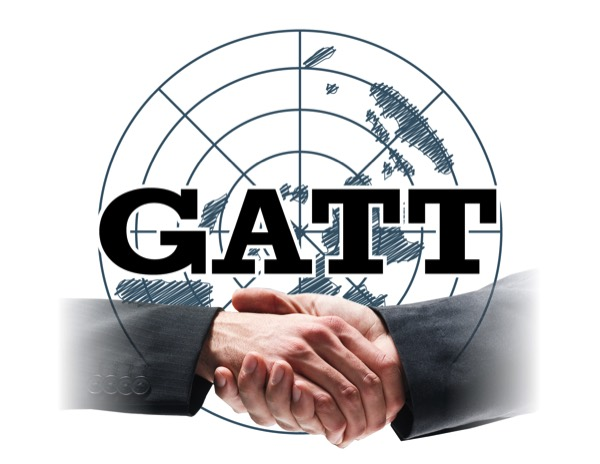 Gatt General Agreement On Tariffs And Trade