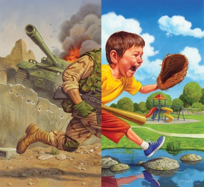 Children and war essay