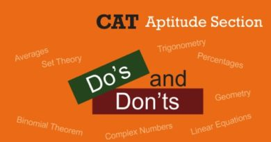 cat aptitude questions