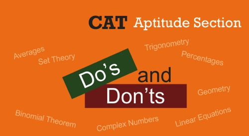 cat aptitude questions