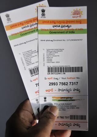 Aadhar Card Toll Free Numbe