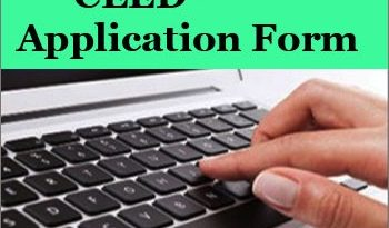 CEED Application Form
