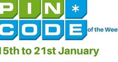Pin Code Week