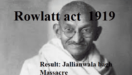 satyagraha and rowlatt essay The 'anarchical and revolutionary act, of 1919 was popularly known as the rowlatt act as the said act was framed on the basis of a report submitted by a committee headed by justice rowlatt.