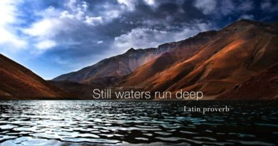 Still Waters Run Deep