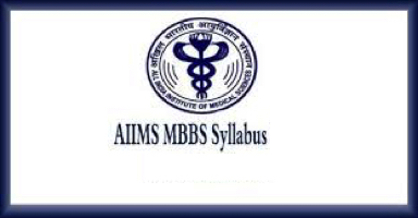 aiims mbbs syllabus