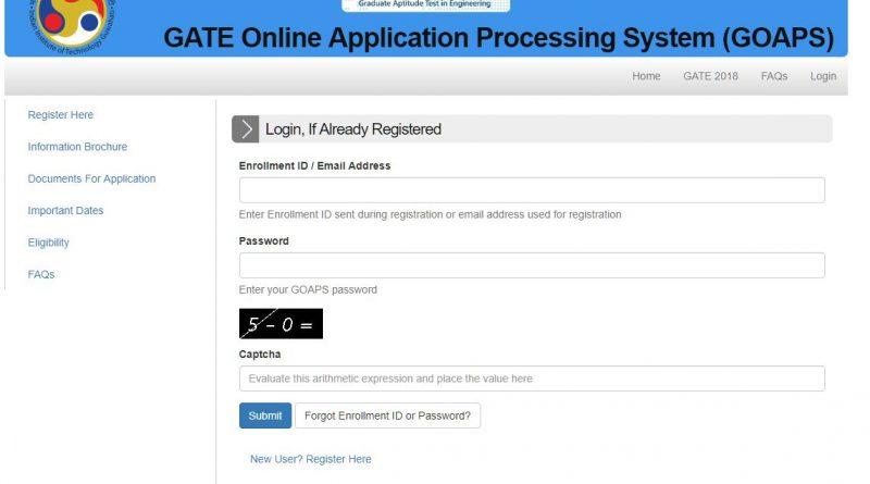 gate registration