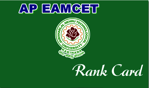 AP EAMCET Rank Card