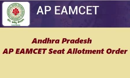 AP EAMCET Seat Allotment