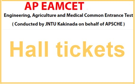 AP EAMCET hall ticket download