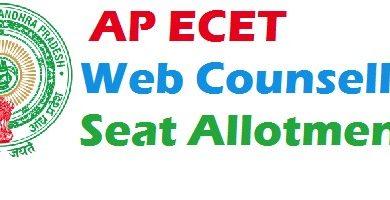 AP ECET Allotment Order