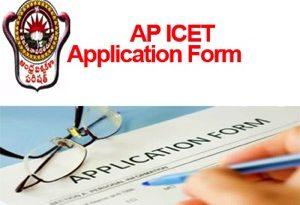 AP ICET Application Form