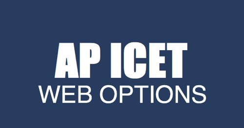 AP ICET Web Options