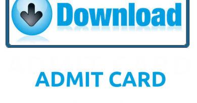 NEET Admit Card