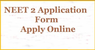 NEET Phase 2 Application Form