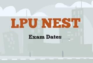 NEST Exam Date